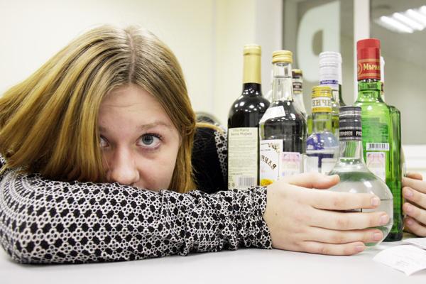 Подросток и алкоголь