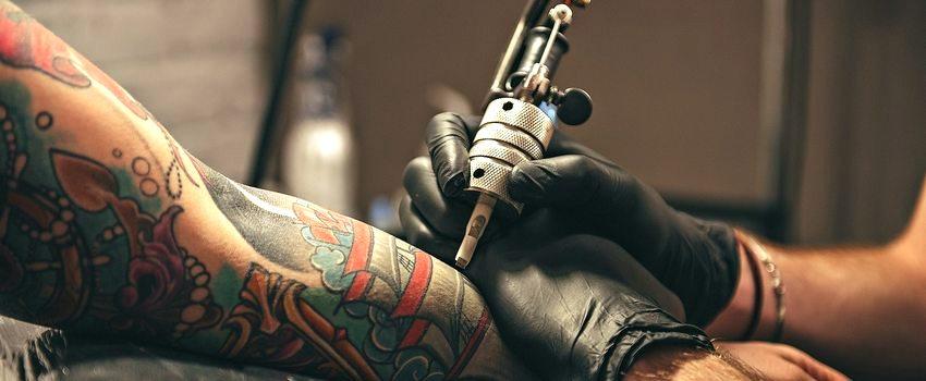 Алкоголь и татуировка