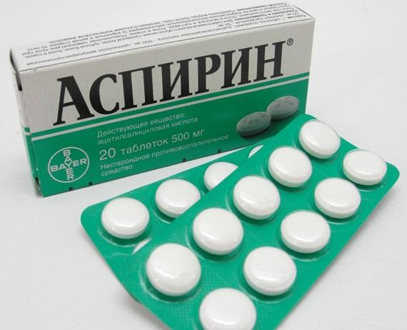 Аспирин перед употреблением алкоголя