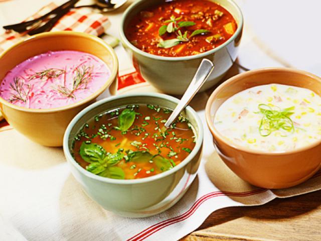 Супы при циррозе печени