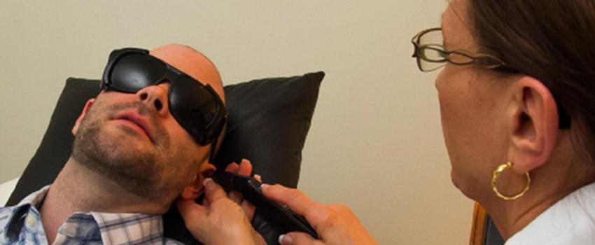 Лазерная физиотерапия при кодировке от наркотиков