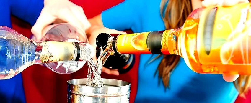 Не смешивайте разные вид алкоголя