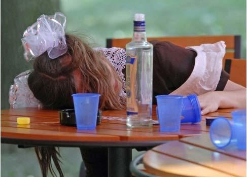 вред подростковый алкоголизм