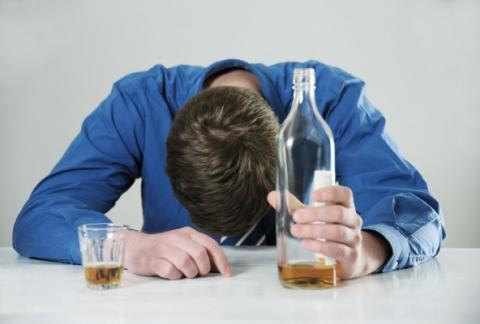 Сильное отравление алкоголем
