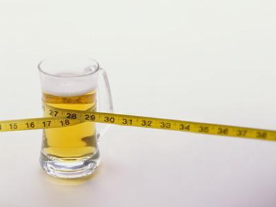 Воздействие алкоголя при тренировках и похудении