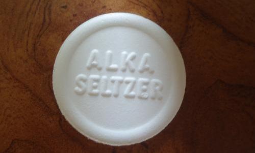 Алка-зельцер - шипучие таблетки